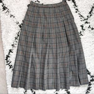 Pendleton Plaid Skirt